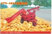 牵引式玉米脱粒机